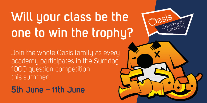 Whole Oasis Sumdog Competition